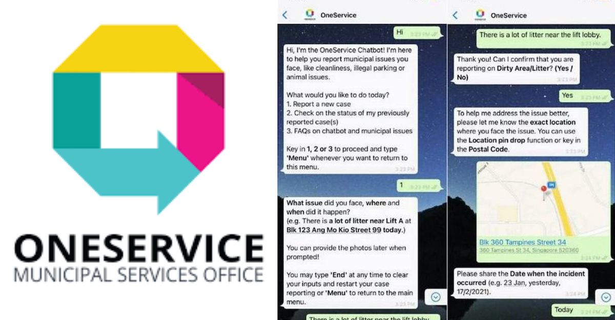 oneservice chatbot