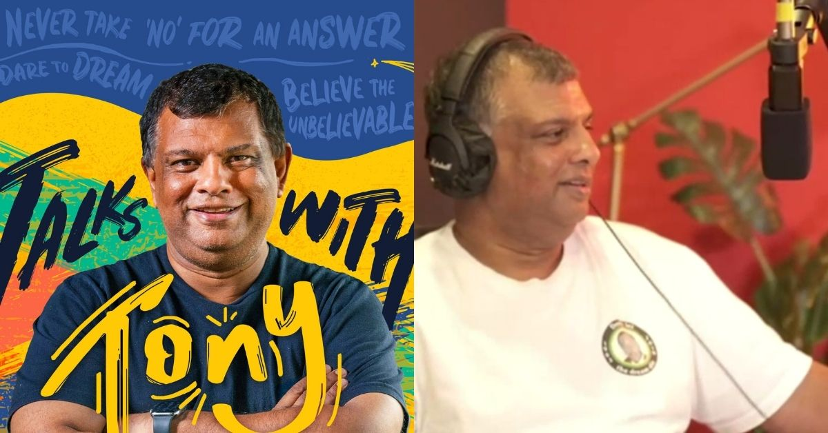 Tony Fernandes, CEO of AirAsia, launches a visual podcast