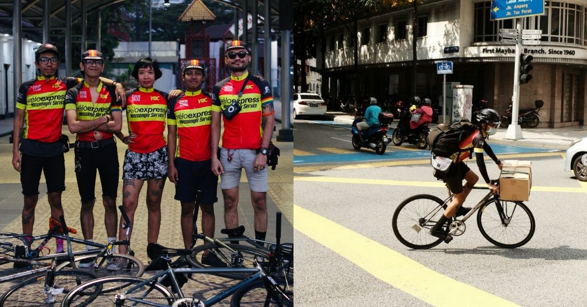 Malaysian delivery start in KL using bicycles