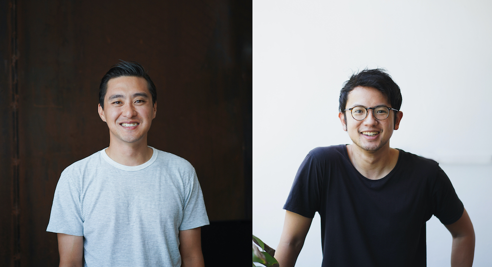 Leon Foo and Andre Chanco, co-founders of Morning