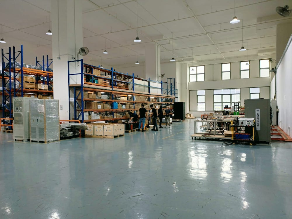 The new facility from genplus