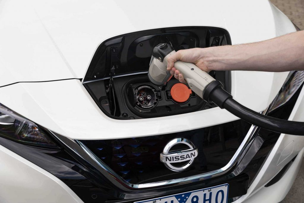 Over 600 EV charging points to be set up in 200 public car parks - rsz nissan leafrecharging 1024x683 1
